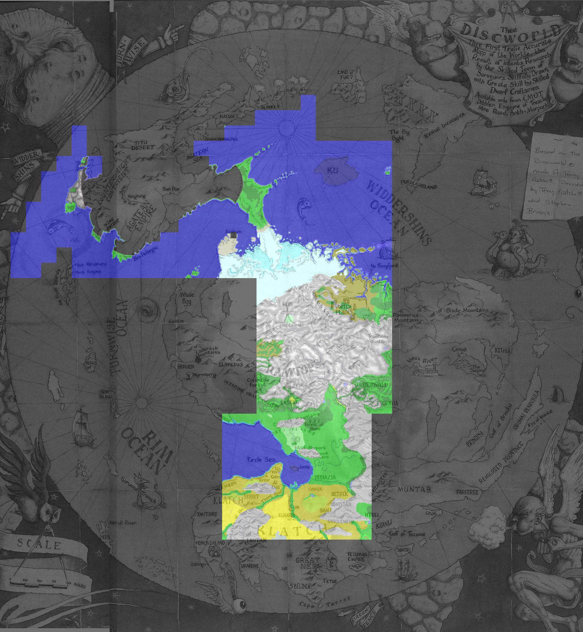 Kefka's Discworld MUD Maps on unseen university, thomas covenant map, the last apprentice map, night watch, theatre of cruelty, gor map, dungeons and dragons map, thief of time, septimus heap map, wardstone chronicles map, guardians of ga'hoole map, alvin maker map, the dark tower map, the colour of magic, monstrous regiment, watership down map, artemis fowl map, moving pictures, the sword of truth map, zones of thought map, gulliver's travels map, star wars map, discworld diary, charlie and the chocolate factory map, soul music, the art of discworld, doctor who map, legend of dragoon map, lords and ladies, marvel map, inheritance cycle map, the truth, the streets of ankh-morpork,